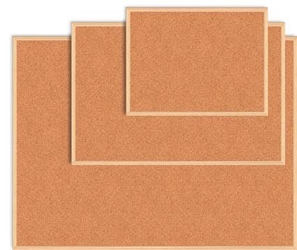 Доска пробковая, 45x60см, дер. рамкаJOBMAX/ BUROMAX BM.0013