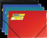 Папка пластиковая,А4 на резинке, BUROMAX-JOBMAX BM.3911-99