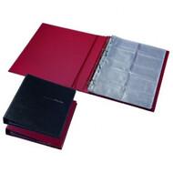 Визитница для 400 визиток Panta Plast, на кольцах, винил 0304-0009