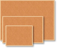 Доска пробковая, 90x120см, дер. рамкаJOBMAX/ BUROMAX BM.0015