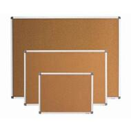 Доска пробковая,60*90 см, алюм рамка BUROMAX BM.0017