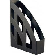 "Лоток вертикальний для бумаг  ""Бюджет"", чорний D4006-01пластик"