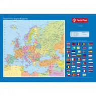 """Подложка для письма """"Карта Європи"""", 590x415мм,PANTA PLAST 0318-0037-99"""