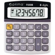 Калькулятор електронний 8 розрядів, 120*105*26мм OPTIMA O75508