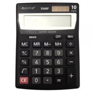 Калькулятор настольный Optima, 10 разрядов, размер 137*103*32 мм (O75507)