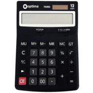 Калькулятор настольный Optima, 12 разрядов, размер 200*150*27 мм (O75505)