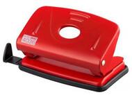 Дырокол металлический на 20 лист. BUROMAX,BM.4037-05,красный