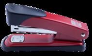 Степлер (скобы №24,26) BUROMAX,BM.4256-01,черный,синий,красный