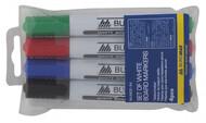 Набор с 4 маркеров для магнитных досок BUROMAX BM.8800-94