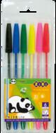 Набор ручек цветных шариковых ECONOMIX STANDART E10510