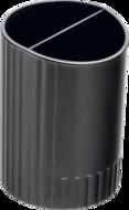 Стакан для ручек,круглый, BUROMAX, BM.6350-01