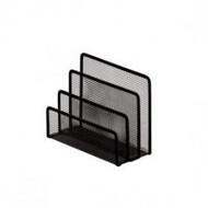 Подставка для листов,170х80х135мм,BUROMAX,BM.6210 (чорный,серебристый)