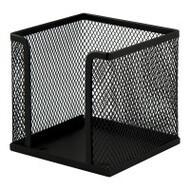 Подставка для листов, 100х100х100мм, BUROMAX,BM.6215(чорный,серебристый)