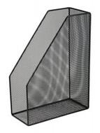 Лоток для бумаг вертикальный 80x230x300мм ,BUROMAX,BM.6260 (чорный,серебристый)