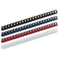 Пружины пластиковые 51мм (50шт) Buromax ВМ0513 (белая, черная, синяя, красная)