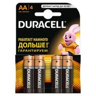 Батарейка пальчиковая Duracell (AA, LR06)