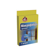 Салфетка мягкая микрофибра для стекла HOZZI 40 * 30 см 1 шт
