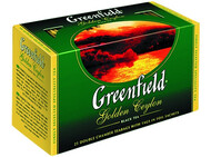 Чай Greenfield Golden Ceylon 25 пак * 2г
