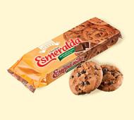 """Печенье """"Эсмеральда"""" шоколадная с шоколадными кусочками 150г"""