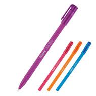 Ручка масляная Axent Mellow AB1064-02-A корпус ассорти, пишет синим