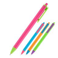 Ручка масляная автоматическая Axent Reporter Color AB1069-02-A корпус ассорти, пишет синим