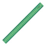 Линейка пластиковая Delta D9800-02, 30см, зеленая