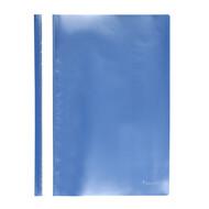 Скоросшиватель A4 Axent 1317-22-A, прозрачная лицевая сторона, голубой