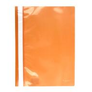 Скоросшиватель A4 Axent 1317-28-A, прозрачная лицевая сторона, оранжевый