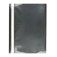 Скоросшиватель A4 Axent 1317-01-A, прозрачная лицевая сторона, черный