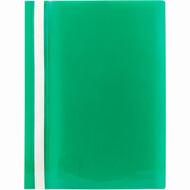 Скоросшиватель A4 Axent 1317-25-A, прозрачная лицевая сторона, зеленый