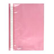 Скоросшиватель A4 Axent 1317-23-A, прозрачная лицевая сторона, розовый