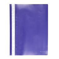 Скоросшиватель A4 Axent 1317-02-A, прозрачная лицевая сторона, синий