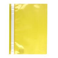 Скоросшиватель A4 Axent 1317-26-A, прозрачная лицевая сторона, желтый