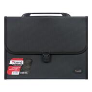 Портфель Axent 1604-01-A, А4, 12 отделений, черный