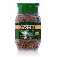Кофе Якобс 100г Монарх растворимый (стекло)